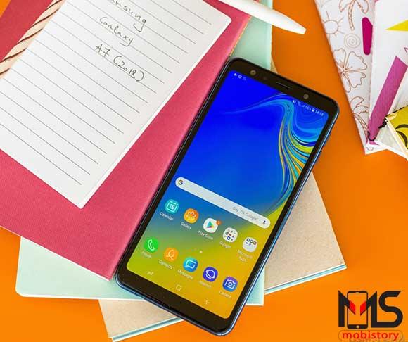 مواصفات واسعار هاتف Samsung Galaxy A7 2018 ومميزات وعيوب