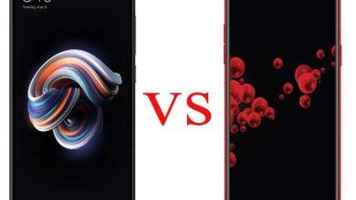 مقارنة بين أوبو F7 و شاومي Redmi Note 5