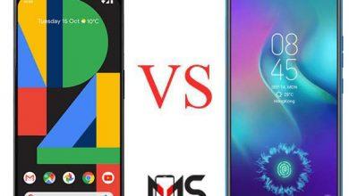 مقارنه بين هاتف Tecno Camon12 Pro و Google Pixel 4