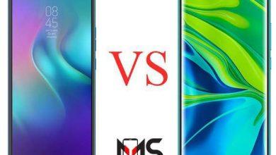 مقارنه بين هاتفTecno Camon 12 Air و Xiaomi Mi Note 10 Pro